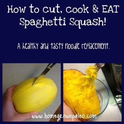 How to cut, cook and eat Spaghetti Squash